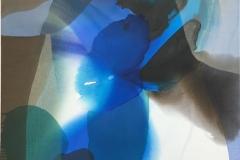 Annette Bryne Farger og fly III Akrylmaleri (100x100 cm) kr 12000