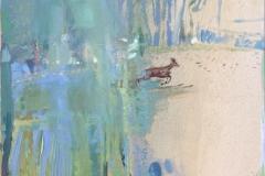 Craig Flannagan Dådyr Oljemaleri (73x78 cm) kr 16500