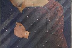 Skygge Akrylmaleri 50x50 cm 5000 ur