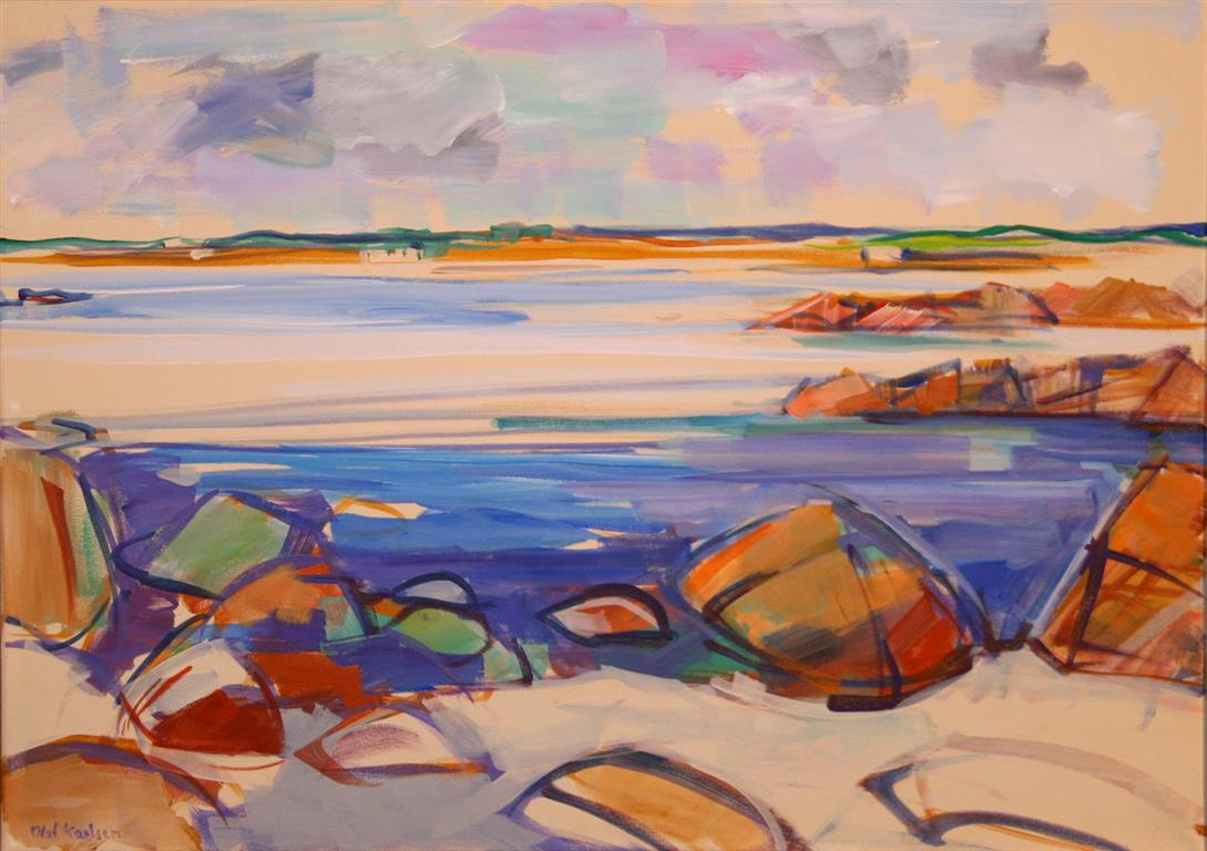 Sommer Akrylmaleri (50x70 cm) kr 7000 mr