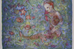 Peace Litografi 22x30 cm 900 ur