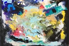 Fargeglede Oljemaleri (60x80 cm) kr 7000 ur