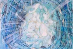 Himmellys Olje,fosfor (80x100 cm) kr 9000 ur