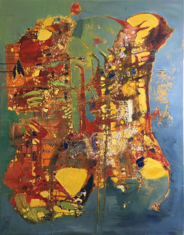 Fabeldyr Oljemaleri (150x120 cm) kr 28000 ur