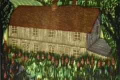 Fargeriet Tresnitt 23,5x28 cm 1200,-kr u.r.