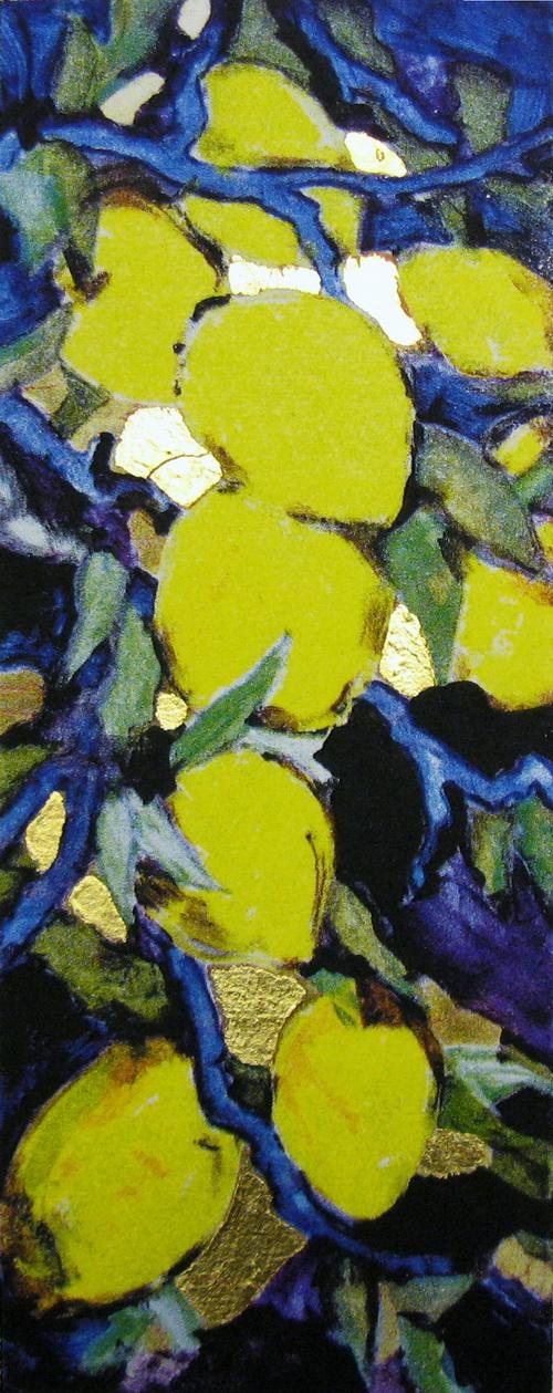 Sitroner små Seriegrafi 1200,-kr u.r.