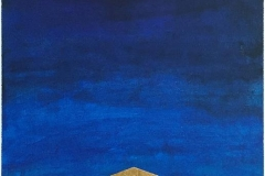 Ledestjerne Serigrafi med bladgull (55,5x37,5 cm) kr 3000 ur