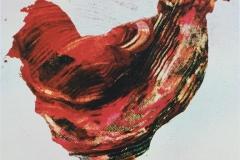 Rødmendene Serigrafi (16x16 cm) kr 750 ur