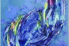 Stor hane Serigrafi (85,5x60 cm) kr 3500 ur