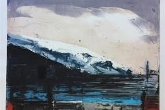 Fjord Etsning (66x79 cm) kr 6000 ur