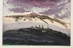 Innover i fjellet Etsning (34x50 cm) kr 3200 ur