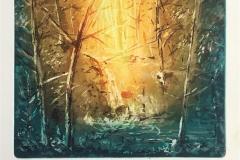 Kulp i skogen Etsning (19x22 cm) kr 1200 ur
