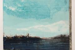 Vindu mot havet Etsning (45x54 cm) kr 4000 ur