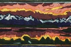Novemberlys Tresnitt 22x61 cm 1600 ur