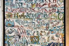 Manus Akrylmaleri (25x256 cm) kr 4000 mr