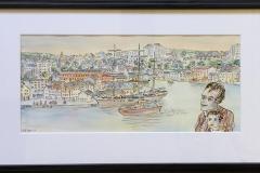 Ytre Vågen Akvarell (22x47 cm) kr 6000 mr
