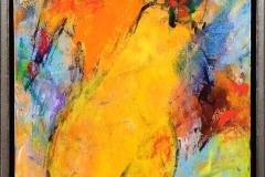 Komposisjon 1 Akrylmaleri (50x35 cm) kr 4000 mr