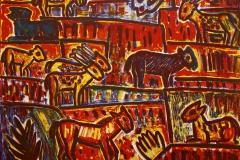 Ur-dyr Litografi 59x74 cm 2400 ur
