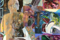 Flukt Maleri (60x70 cm) kr 18000 ur