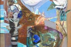 Fusjon II Maleri (80x80 cm) kr 29000 mr