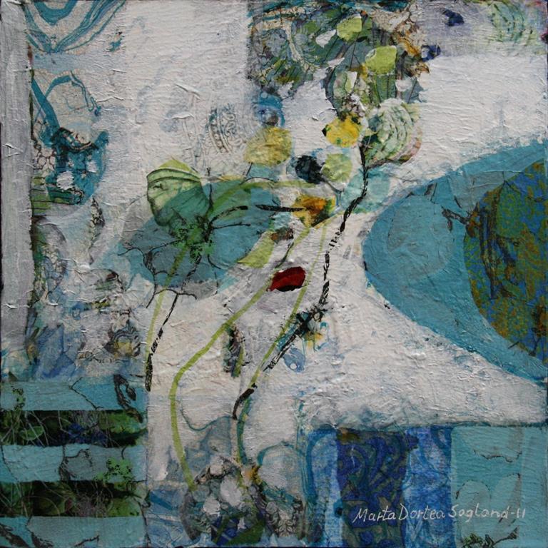 Intermesso I Akrylmaleri (30x30 cm) kr 3500 ur