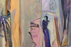 Solitude 15 Akrylmaleri (60x50 cm) kr 6500 ur