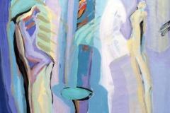 Nerast er du Akrylmaleri 60x50 cm kr 6500 ur