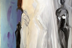 Stime av lys Akrylmaleri 60x50 cm kr 6000 ur