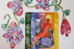 Blooms Akvarell (23x30 cm) kr 5000 ur