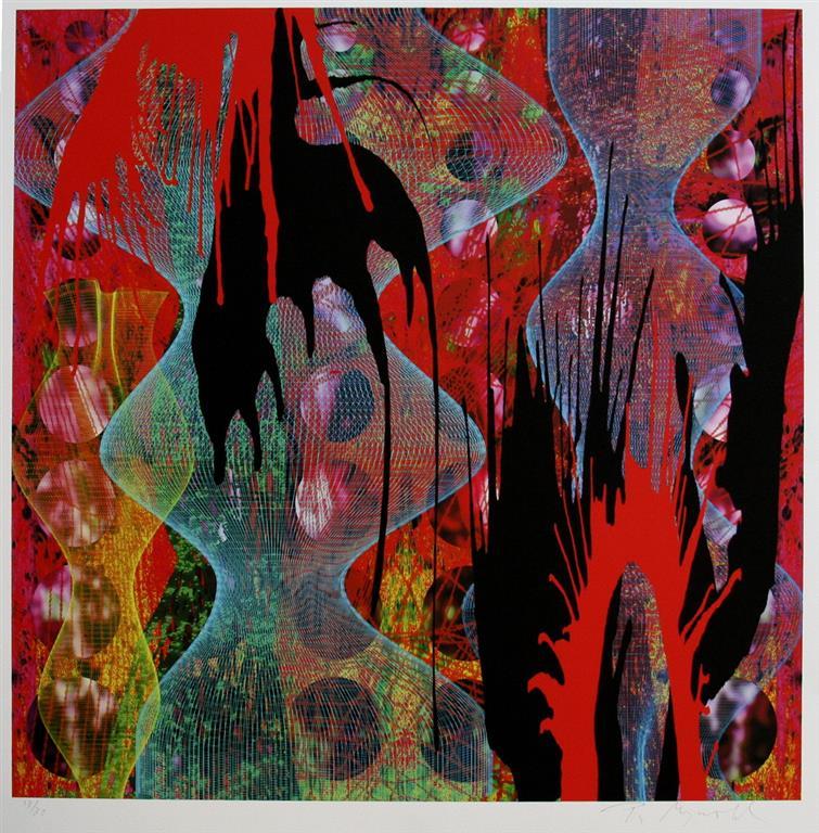 Forest II Digigrafikk (44x44 cm) kr 5000 ur