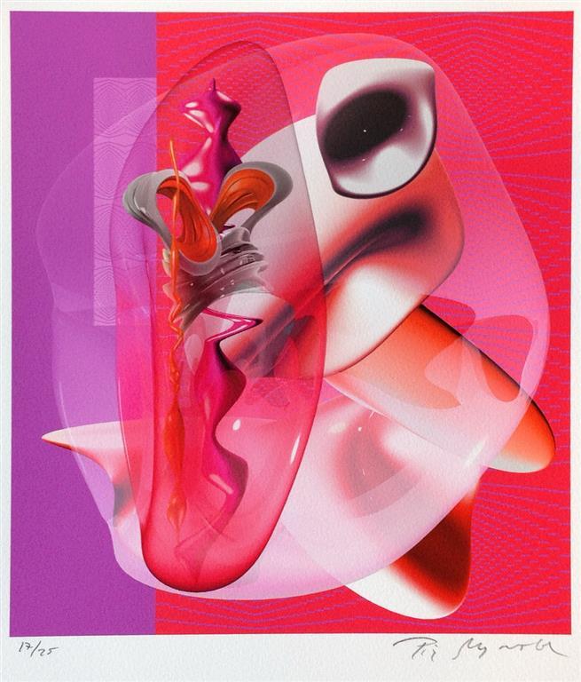 Rose-Membrance Digigrafikk (23x21 cm) kr 3800 ur