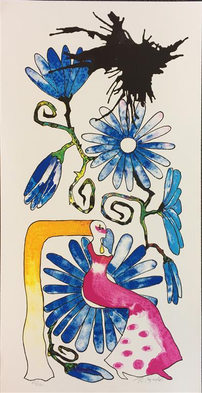 Bloom Garden Litografi (57x27 cm) kr 4000 ur