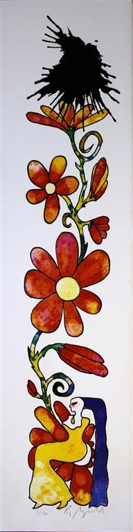 Bloom I Litografi (57x10 cm) kr 3000 ur