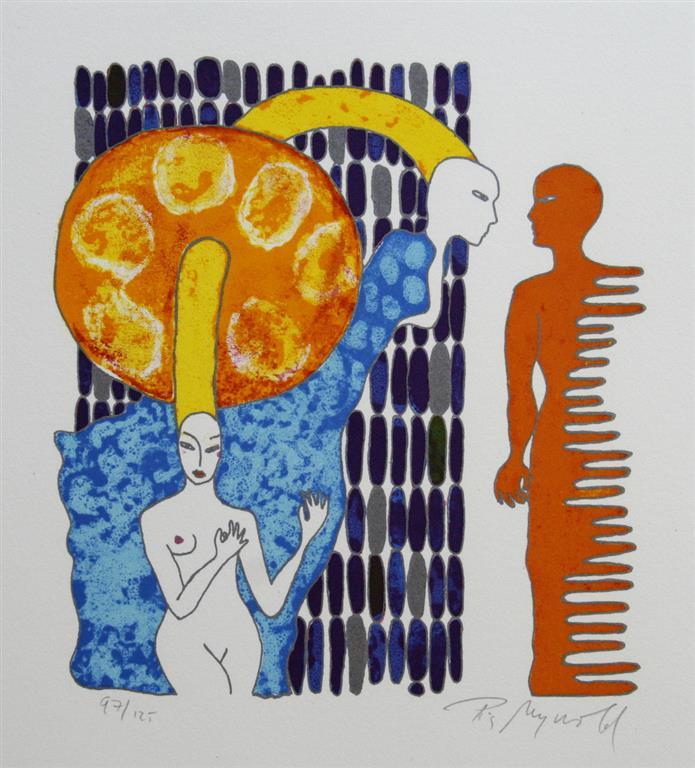 Phantom Love Litografi (25x23 cm) kr 3000 ur