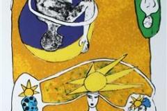 Kjærligtetens Univers Litografi (67x22 cm) kr 3500 ur
