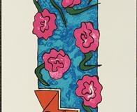 Steps Litografi (55x10 cm) kr 3000 ur