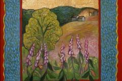 Geitrams i Rauland Oljemaleri 50x50 cm 4400,-kr m.r.