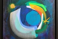 Iskra I Akrylmaleri (38x41 cm) kr 5500 mr