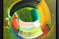 Orbit I Akrylmaleri (40x40 cm) kr 5500 mr