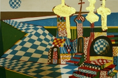 Katedralen i Zagorsk Litografi 30x36 cm 2000 ur