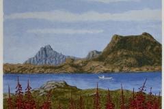 Lofotsommer VIII Seriegrafi 41,5x34 cm 1400 ur