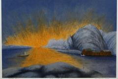 Mot Lofotodden Seriegrafi 31,5x45 cm 700 ur