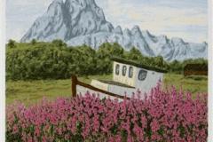 Nordlandsglimt IV Seriegrafi 45x20 cm 900 ur