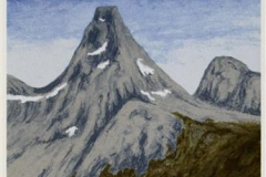 Nordlandsglimt VII Seriegrafi 45x20 cm 900 ur