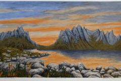Panorama II Seriegrafi 33x55 cm 1200 ur