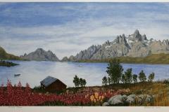 Panorama III Seriegrafi 33,5x55,5 cm 1500 ur