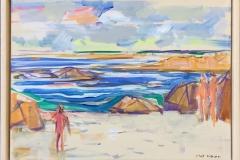 På stranden Akrylmaleri (30x40 cm) kr 3500 mr