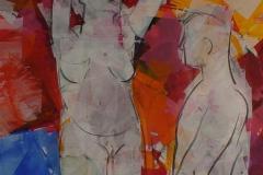 Fristinnen Akrylmaleri 100x100 cm 13500 ur