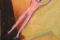 Hopp Akrylmaleri 30x25 cm 3000 mr