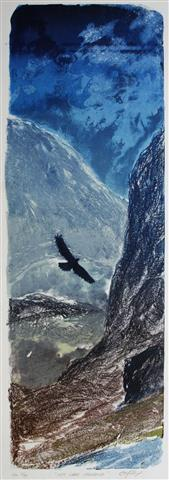 Mitt indre speglbilde Litografi 77x26 cm 5000 ur